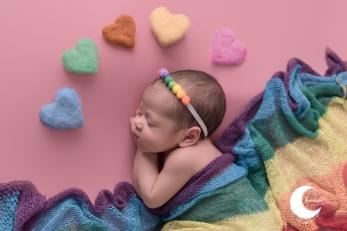 bebé arcoiris, valencia