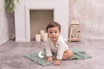 fotografía de bebé en estudio, valencia, lunalupe fotografía