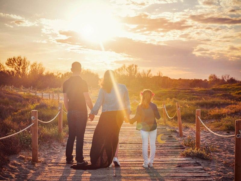 sesión de embarazo en familia, lunalupe fotografía