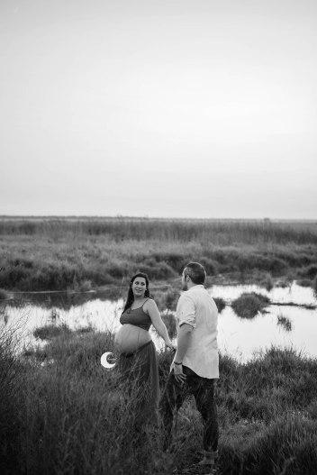 sesión de fotos entre arrozales, valencia