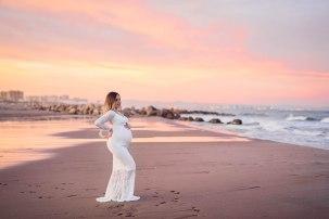 sesión de fotos premamá en la playa, lunalupe fotografía Valencia (3)